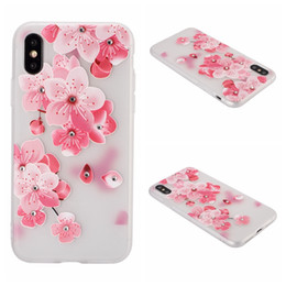 $enCountryForm.capitalKeyWord Australia - Case For iPhone X XS MAX XR 7 8 6 Plus Bling Diamond Flower Soft TPU Mandala Blossom Rose Henna Floral Paisley Painting Cover Emboss Skin