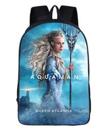 New Comics Pattern Backpack Cute Bag Student Boy Girl Bag Youth Comfortable Wear Shoulder Light Bag