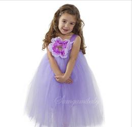 $enCountryForm.capitalKeyWord Australia - 5 Color Girl flower bowknot lace Sling dresses Dress NEW children princess party Rainbow colors sleeveless tutu Dress skirt
