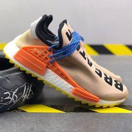 $enCountryForm.capitalKeyWord Australia - 2019 NMD Human Race Pharrell Williams Men Running famous brands Shoes PW HU Holi Tie Dye Equality Designer women Sport Sneakers With Box M8