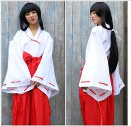 $enCountryForm.capitalKeyWord Australia - Wholesale-Red Hot Sale Halloween Costumes for Women cosplay costume Japanese red kimono yukata kimono dress cos lolita witch suit