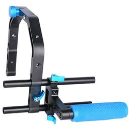 $enCountryForm.capitalKeyWord Australia - Yelangu Durable Aluminum Alloy Video Dslr Camera C Shape Bracket Support System Top Handle Grip For Video Dslr Camera Camcorde