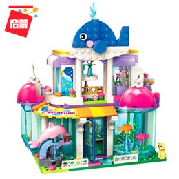 $enCountryForm.capitalKeyWord Australia - ENLIGHTEN Girls City Friends Princess Blue Whale Aquarium Colorful Holidays Building Blocks Sets Kids Toys Compatible LegoIN