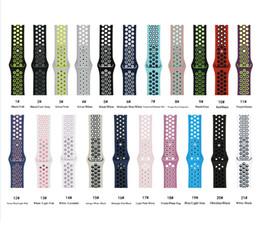 $enCountryForm.capitalKeyWord Australia - Silicone strap for ip Watch Band 42mm Bracelet Watchband for ip Watch Strap Rubber iwatch band 4 3 2 1 38MM Sport Wristbands
