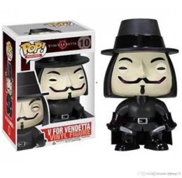 low price toys NZ - low price Discout Funko POP V for Vendetta Vinyl Action Figure With Box #619 Popular Toy Model Good Quality FACTORY PRICE