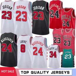 4484d5b4fd1e 23 Michael MJ 2019 Latest Chicago 24 Markkanen Jerseys Lauri Bulls Zach 8  LaVine Lauri Wendell  34 Carter Jr. Basketball Jerseys