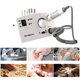 Strumento polacco Nuovo 35000rpm Professional Electric Nail Art Drill della penna del chiodo di Pedicure Cura di piedi manicure macchina Pedicure Accessori in Offerta