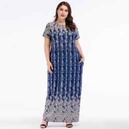 2ae8e6e060 Moroccan clothing online shopping - Muslim Abaya Short Sleeve Maxi Dress  Cardigan Loose Plus Size Kimono