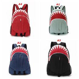 $enCountryForm.capitalKeyWord Australia - Wholesale-Children's Shark mouth backpacks Cute 3D Shark Mouth Women Backpack ,School Kid Boy Girl Outdoor Bag School Mens Travel Backpacks