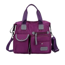 $enCountryForm.capitalKeyWord UK - New nylon waterproof handbag, stylish one shoulder diagonal straddle bag, ladies one shoulder bag C9