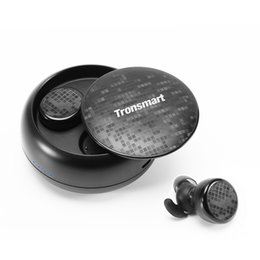$enCountryForm.capitalKeyWord UK - Tronsmart Encore Spunky Buds Bluetooth 5.0 TWS Earbuds 12 Hours Playtime Siri Assistant IPX5 Water Resistant- Black