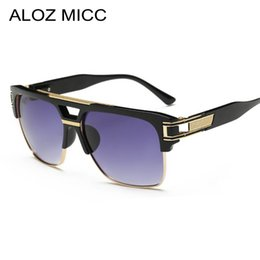 a6f94818608 Discount big eyeglasses frames for women - ALOZ MICC 2019 Vintage Square  Sunglasses Men Women Fashion
