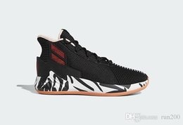 White Rose Stores Australia - perfect D Rose 9 Zebra shoes for sale Free shipping Best Derrick Rose basketball shoes store US7-US11.5
