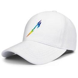 $enCountryForm.capitalKeyWord Australia - Unisex Summer fashion Hat Classic 2019 Metallica King of metal Gay pride rainbow Mesh Cap Mens' Women's Sun Cap