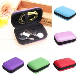 hard case electronic 2020 - Mini External Storage Hard Case Bags Headset Earphone Cable Carry Storage Box for Phone USB Cable Charger Power Bank Cas