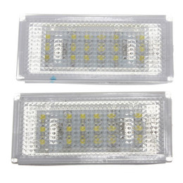 e46 led license plate light Australia - 1 Pair 18 LED License Plate Light for BMW 3 Series  E46 2d Coupe 1998 - 2003  M3  Pre-Facelift