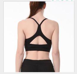 $enCountryForm.capitalKeyWord NZ - Solid Color Women Designer Sports Vest Sexy Fashion Bra Casual Yoga Female Unerwear Shockproof Casual Clothing