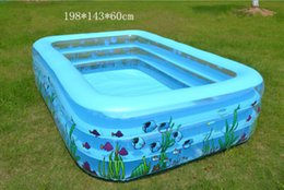 $enCountryForm.capitalKeyWord Australia - VILEAD Family Children's Inflatable Pool Infant Swimming Pool Ball Basin Family Swimming Children Dabble Paddle