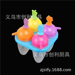 Environmental Protection Products NZ - Midsummer New Product Environmental Protection Pp Originality Cartoon Popsicle Model Popsicle Box --- Four Group Corn