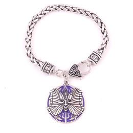 $enCountryForm.capitalKeyWord Australia - HY198 Fashion Design Ladies Bracelet Bohemian Style Religious Vintage Butterfly Pendant Bracelet with Moon Pattern Jewelry