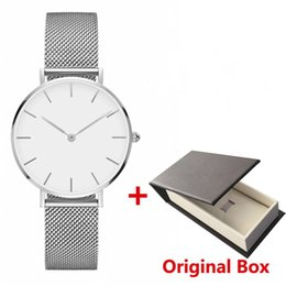 Women strip men online shopping - New Girls mens Steel strip Daniel watches mm women watches mm men watchesQuartz Watch Clock Relogio Feminino Montre Femme Wristwatches