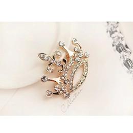 $enCountryForm.capitalKeyWord Australia - High Level Jewelry Retro Large Crown Women Fashion Zircon Brooch