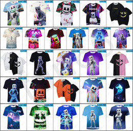 b46315189 New DJ Marshmello T-shirts 26 styles Unisex DJ Marshmello Tees Steetwear 3D  Digital Printed DJ Marshmello Tshirts Size from Kids to Adult 20