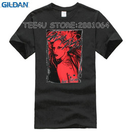 Cotton Direct NZ - 2018 Direct Selling Promotion Fashion Broadcloth Cotton Print Tee4u Awesome Tees O-neck Men Lady Gaga Streaked Short Sleeve