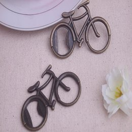 bicycle souvenir Australia - New Bottle Opener Metal Bicycle Bike Shaped wine Openers Wedding Favor Souvenir Party Gift Present Openers