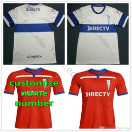61b1cf82c35 2019 2020 University of Chile Club Universidad Catolica Soccer Jerseys  Custom Any Name Any Number 19 20 Home Away Red White Football Shirt
