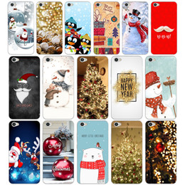 Snow White Phone NZ - 266H happy New Year merry Christmas Tree Snow Silicone Soft Tpu Cover phone Case for xiaomi redmi 4a 6a 4x note 5a pro mi a1