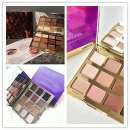 Big eye shadow palette online shopping - 2018 HOT Retail Link Dropshiping best Tartelette in Bloom Clay Palette Colors Eye Shadow High Performance Naturals dhl