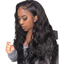 ombre full lace wigs Australia - Lace Front Wig Pre Plucked With Baby Hair 180 Density Remy Loose Wave Lace Front Human Hair Wigs Bleached Knots