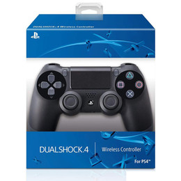 Wholesale game top for sale – custom 2020 Hot Sell SHOCK Wireless Controller TOP quality Gamepad for PS4 Joystick with Retail package Game Controller free fedex shipping