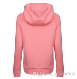 $enCountryForm.capitalKeyWord Canada - 2018 new brand designer women clothes ADID-S womens pink Hoodies women's fashion tops Autumn winter jackets coats hoodie for woman BLGC