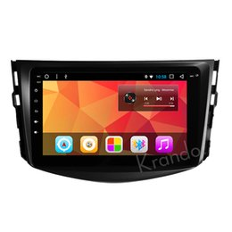 "touch screen toyota NZ - Krando Android 8.1 8"" IPS Big Screen Full touch car Navigation system for Toyota RAV4 2007-2012 radio player gps Bluetooth wifi car dvd"