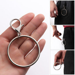 Trouser chain online shopping - 2019 pc Street Big Ring Key Chain Rock Punk Trousers Hipster Key Chains Pant Keychain HipHop Fashion Accessories