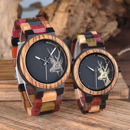 $enCountryForm.capitalKeyWord Australia - Bobo Bird Lover Wood Watch Unique Luxury Design With Wooden Strap Japan Quartz Movement Wristwatch Men Relogio J-p14-3 Y19052103