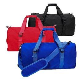 $enCountryForm.capitalKeyWord Australia - Brand Lu Lu Gym Bag LuLu Bag Outdoor Travel Duffel Bags Black Red Blue 3 Colors Size 47cm*20cm*24cm