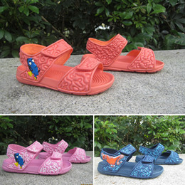 81aad0d6e0c66 2019 Summer Boys and girls sandals baby shoes toddler slippers soft bottom children  shoes Korean version shoes kids