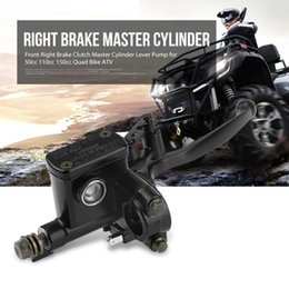 "clutch lever master NZ - 7 8"" Front Right Brake Clutch Master Cylinder Lever Pump for 50cc 110cc 150cc Quad Bike ATV"
