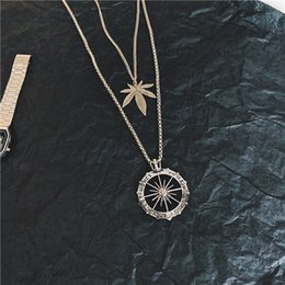 Wholesale long style new fashion hiphop online – oversize New Arrival American And European Version Pendant Necklace Hiphop Style High grade Fashion Luxury Suitable Long Penddant For Couples