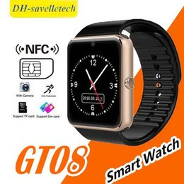 $enCountryForm.capitalKeyWord Australia - GT08 Smart Watches iwatch A8+ GT08+ Bluetooth Connectivity for iPhone Android Phone Smartwatch Electronics with Sim Card