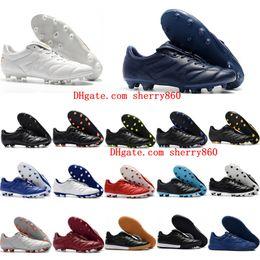 Tiempo Shoes Canada - 2019 cheap mens soccer cleats Retro Tiempo Premier II TF IC football boots Tiempo Legend Premier 2.0 FG AG soccer shoes Hot