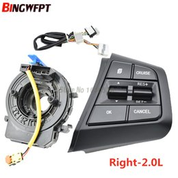 $enCountryForm.capitalKeyWord Australia - Steering Wheel Button For Hyundai ix25 (creta) 2.0L button switch cruise speed function car accessories right side
