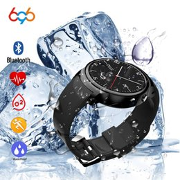 $enCountryForm.capitalKeyWord Australia - 696 Smart Watch i3 RAM 2GB ROM 16GB 2MP Camera Android 5.1 3G WIFI GPS Heart Rate Monitor Smartwatch For Android IOS Phone