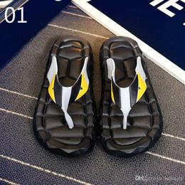 Eva Slippers Flip Flops Australia - free shipping Flip Flops Men Sandals Shoes For Casual Walking Beach Slides EVA Massage Slippers Designer Flats Male Summer Mens Shoes 3A 89