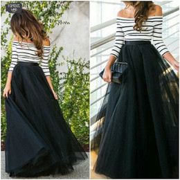 Formal clothes For women online shopping - Layers Cm Floor Length Bridesmaid For Women Elegant High Waist Pleated Skirt Bridesmaid Ball Gown Skirts Clothing