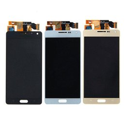 samsung a5 touch display Australia - For Samsung Galaxy A5 2015 A500 A5000 LCD Display Touch Screen Digitizer Replace assembly Brightness is adjustable Ferr DHL