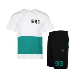 Active Suit Australia - Men's Running Suit Sportswear Shirt Shorts Fashion Popular Active Sport Suit Men Tshirt Mens Shorts Print Letters Men Tracksuits